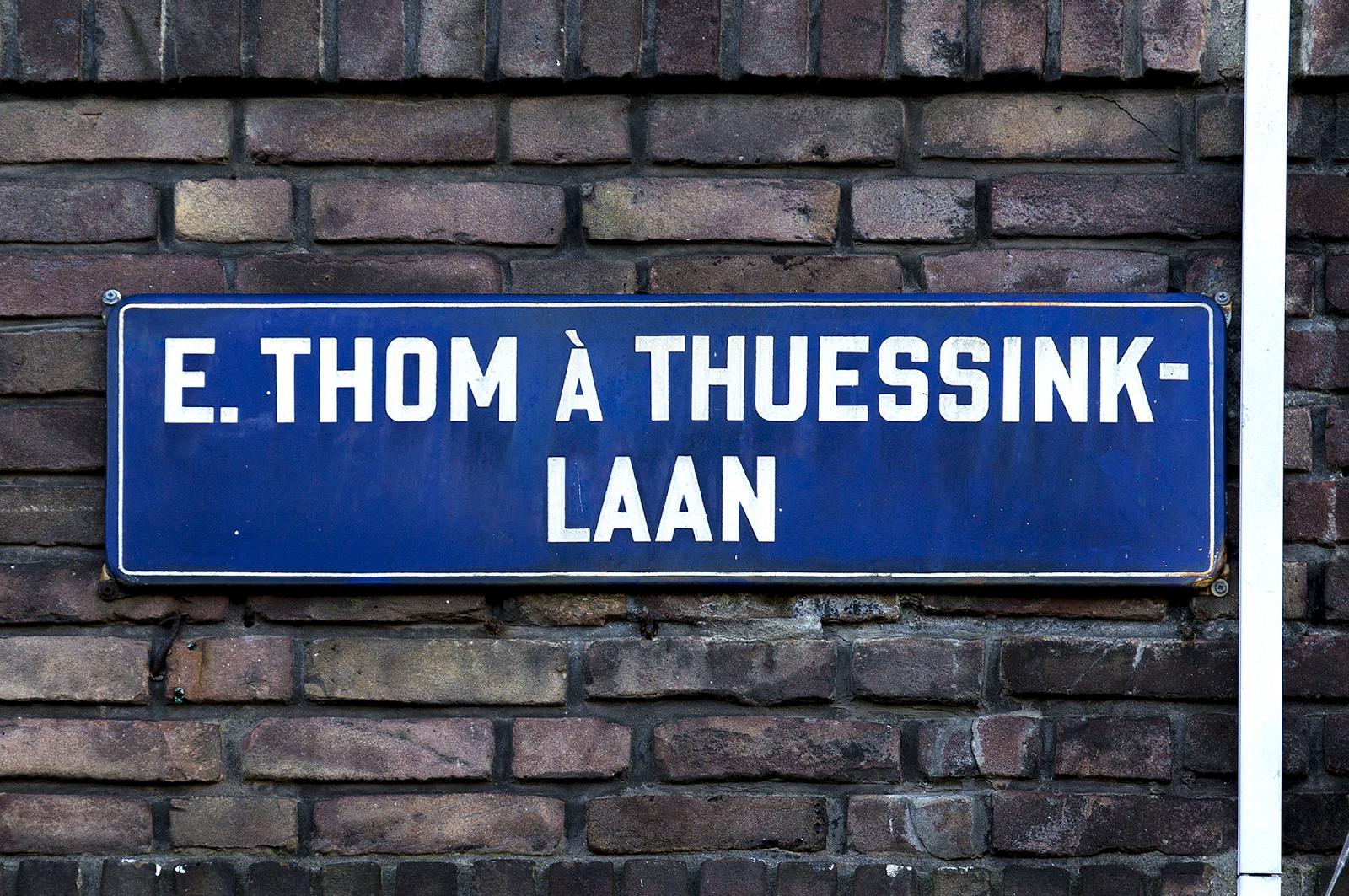 E. Thom à Thuessinklaan