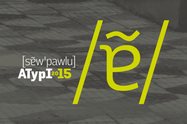Logo of the 2015 ATypI conference