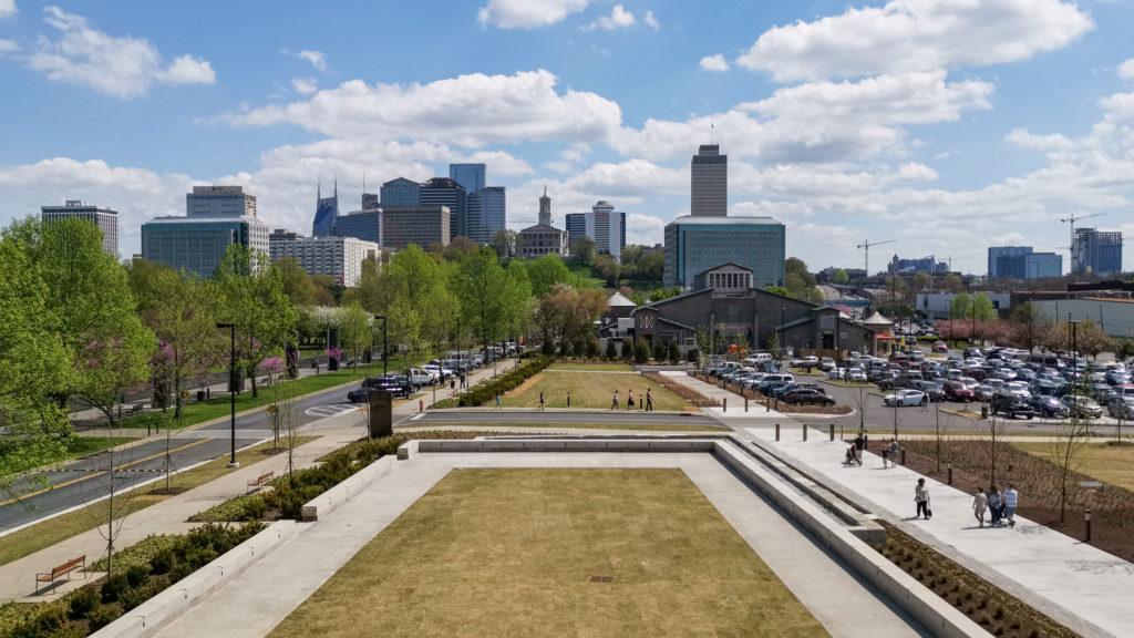 Panorama der Innenstadt von Nashville